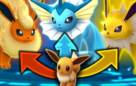 Pokémon Go: truco para capturar a Flareon, Jolteon y Vaporeon