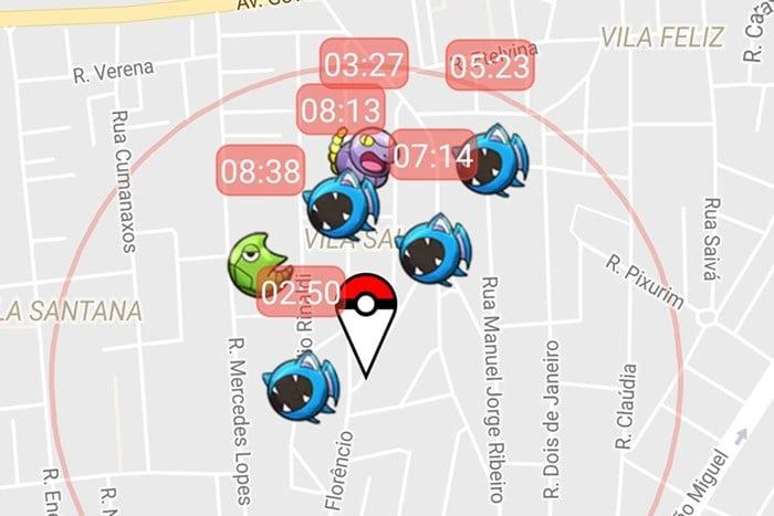 pokemon-go-app-poke-radar PokéRadar para Pokémon GO en Android y iOS - Android iOS Trucos Pokémon GO
