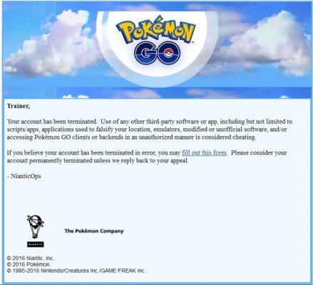 pokemon-go-cuentas-baneadas-439x400 Las baneos en Pokémon GO ha comenzado: Como saber si estas castigado - Noticias Pokémon GO
