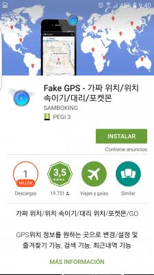 pokemon-go-dercarga-fly-gps-225x400 Trucos Pokémon GO: Fake GPS con JoyStick sin root con Fly GPS - Trucos Pokémon GO