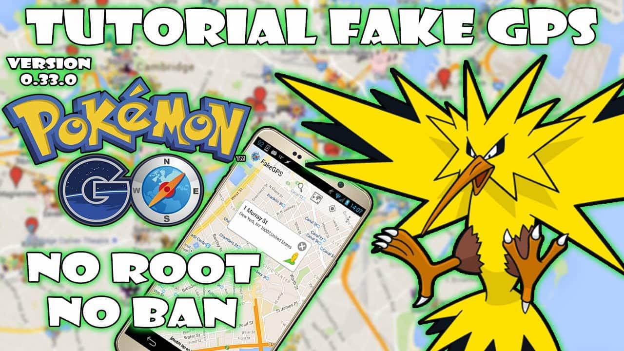 Trucos Pokémon GO: Fake GPS con JoyStick sin root con Fly GPS