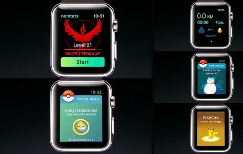 Pokémon GO llegará a Apple Watch a finales de año