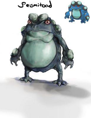 Realistic-seismitoad-309x400 25 INCREÍBLES dibujos realistas de Pokemon - Noticias Pokémon GO