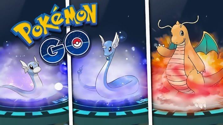 pokemon-go-dranite-dratini-dragonite-711x400 Truco Pokémon Go: Cómo conseguir a Dragonite, Vaporeon y Lickitung - Trucos Pokémon GO