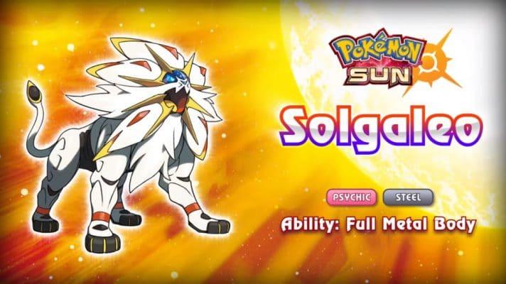 pokemon-sol-y-luna-legendario-Solgaleo-712x400 Pokémon Sol y Luna: Todo lo que tienes que saber - Pokémon Sol y Luna