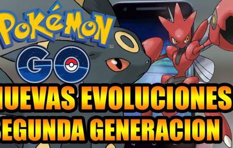 Nuevos Pokémon, ítems y nuevas evoluciones en Pokémon GO