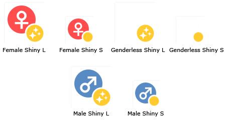 pokemon-go-shiny-pokemon-icons Los Pokémon Shiny (brillante) ya está disponible en Pokemon GO - Noticias Pokémon GO