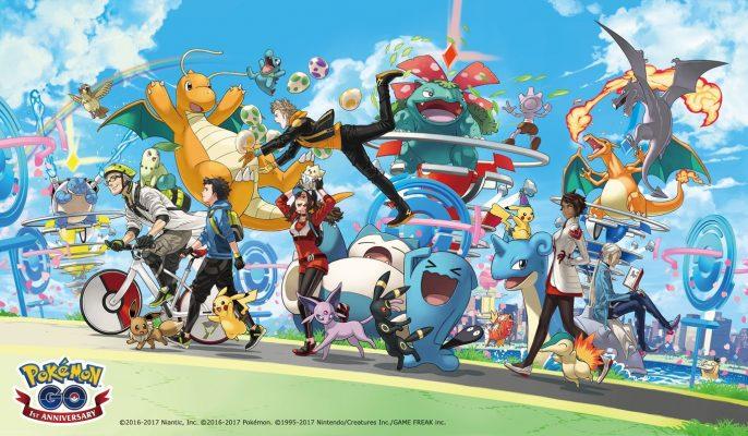 pokemon-go-primer-aniversario-686x400 Pokemon Go para iOS -
