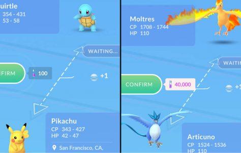 Cómo funciona el comercio Pokemon GO