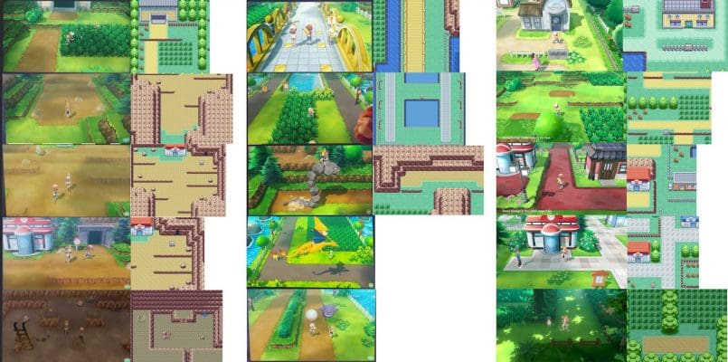 pokemon-lets-go-yellow-comparisons-805x400 Comparaciones entre Pokemon Let's Go y Pokemon Yellow - Noticias Pokémon GO